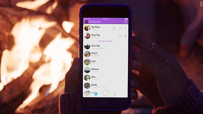 Snapchat crea nuevas opciones para sobrevivir