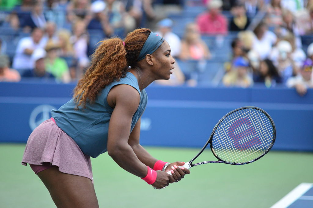 Serena Williams está en la dulce espera