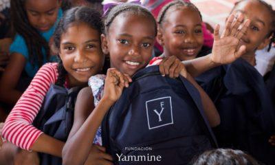 Yammine - Entrega de kits escolares a niños de Chuspa (1)