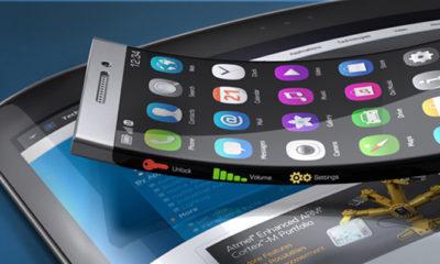 Empresas compiten por el lanzamiento de celulares flexibles