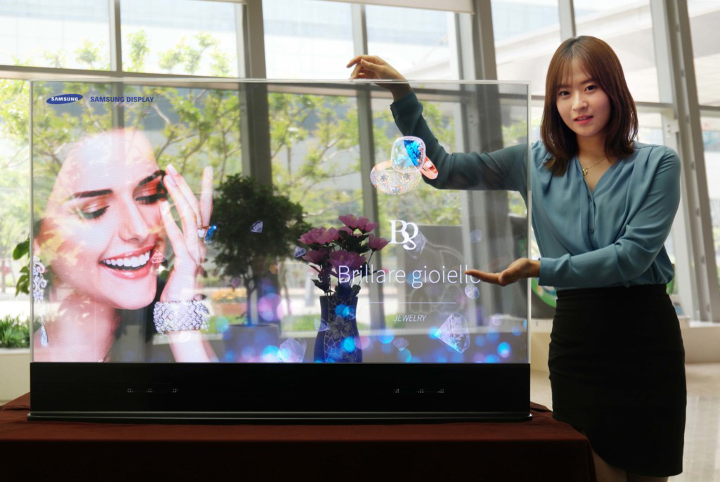 "Conoce a ""The Window"" el primer televisor transparente de Samsung"