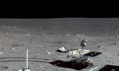 La Administración Nacional del Espacio de China señalando que la sonda comenzó a disminuir su velocidad y entró en la órbita polar lunar elíptica con una periluna de 100 kilómetros