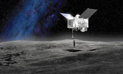 Los espectrómetros de la sonda OSIRIS-Rex indicaron la presencia de hidroxilos, moléculas que contienen átomos de oxígeno e hidrógeno adheridos entre sí