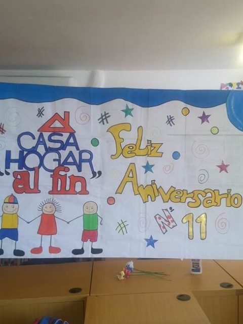 Mauro Libi Crestani 11 aniversario de la Casa Hogar Al Fin